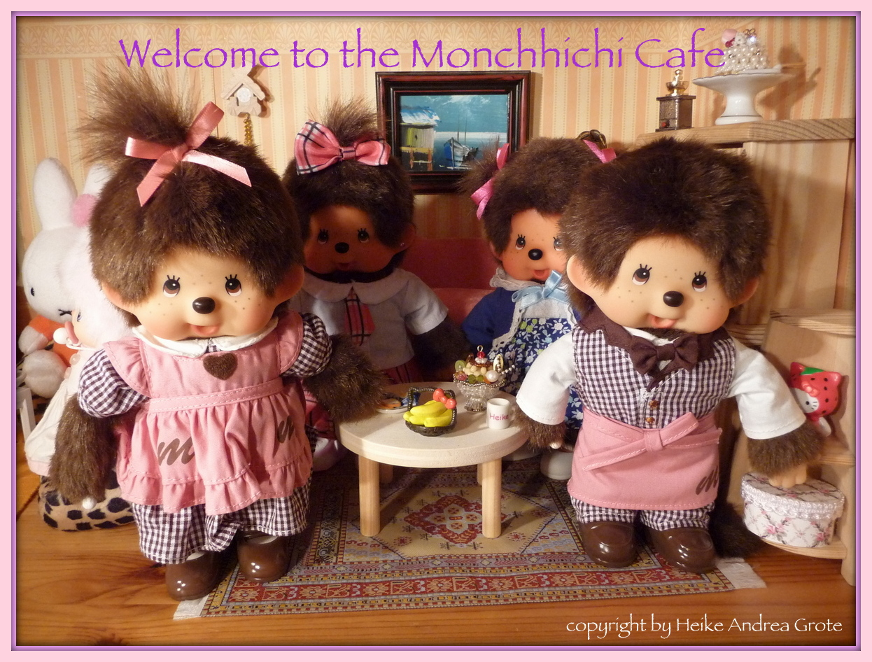 Welcome to the Monchhichi cafe