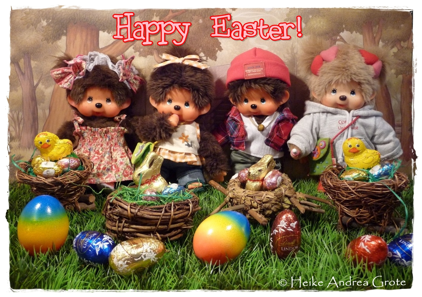 Monchhichi Easter 2012