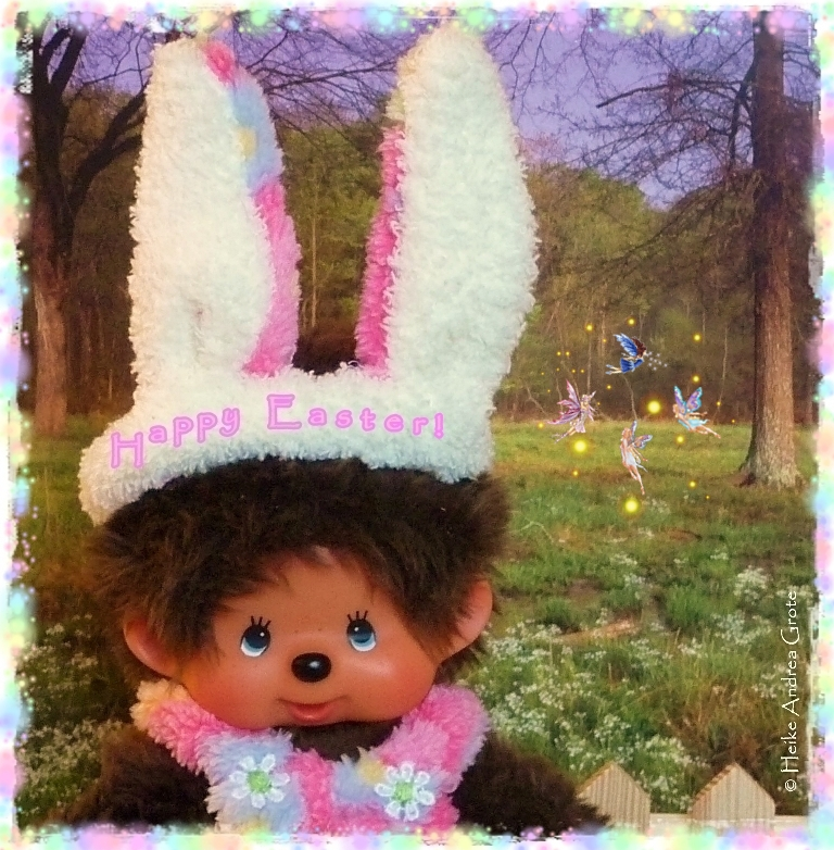 Monchhichi Easter 2013