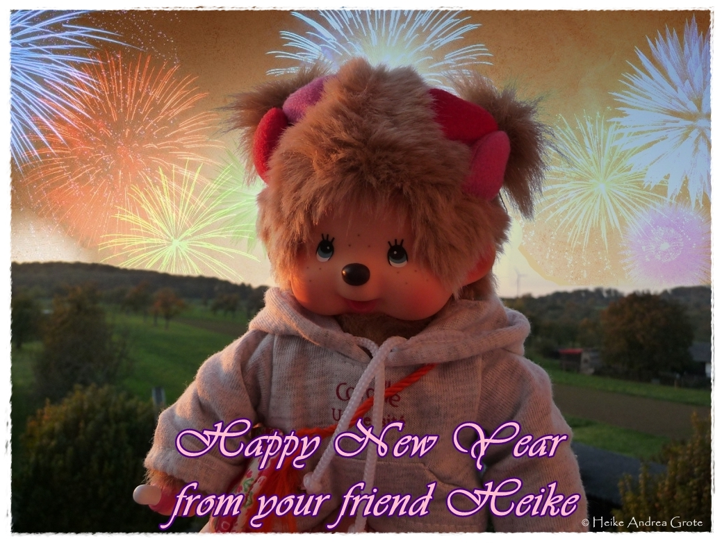 Happy New Year from your friend Heike